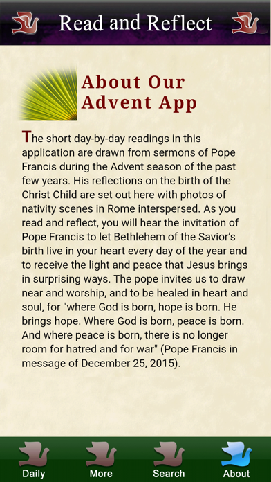 Screen Shot Lent 2020 with Pope Francis 4