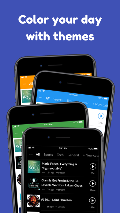 Player FM — Podcast App Screenshot