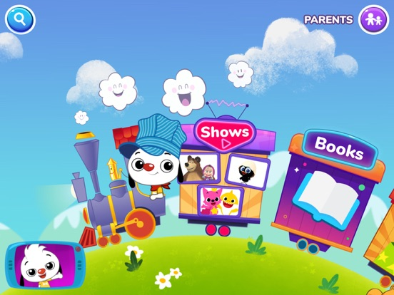 PlayKids - Preschool Cartoons and Fun Minigames for Kids Under 5 screenshot