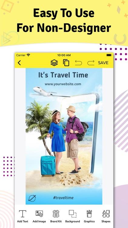 Brand Maker - Graphic Design screenshot-5