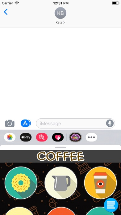 Coffe StickerPack app image