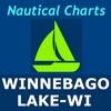 Winnebago Lake Boating GPS, WI