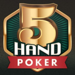 5-Hand Poker: Solitaire Game