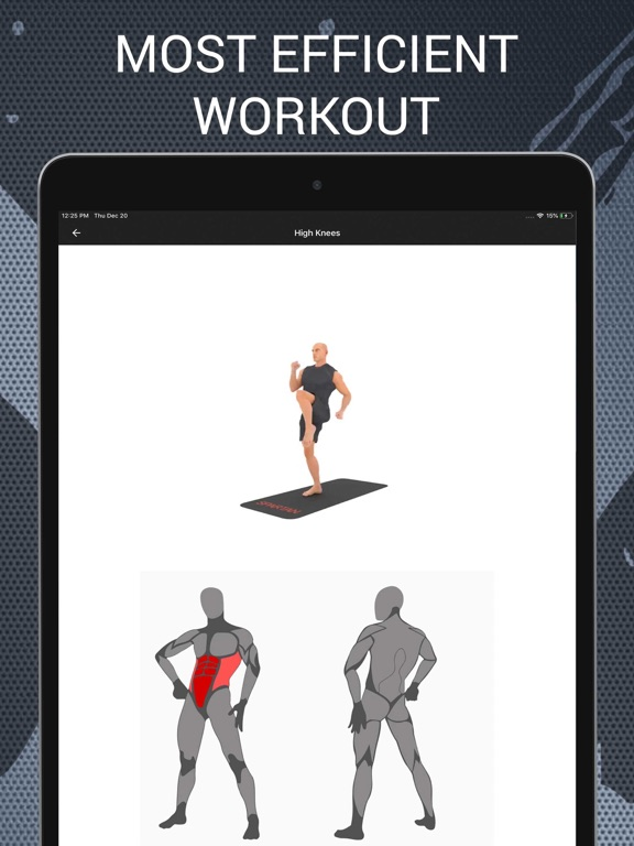 Home Workouts and Exercises Screenshots