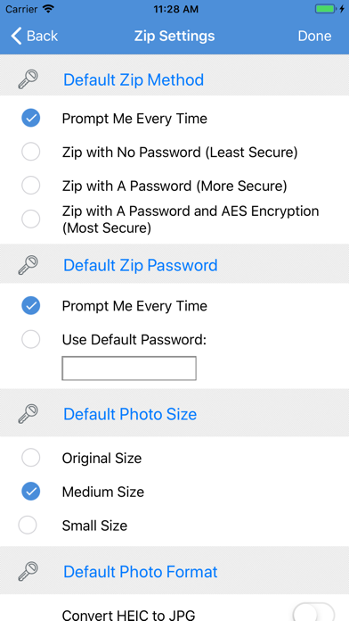iZip Pro for iPhone app image