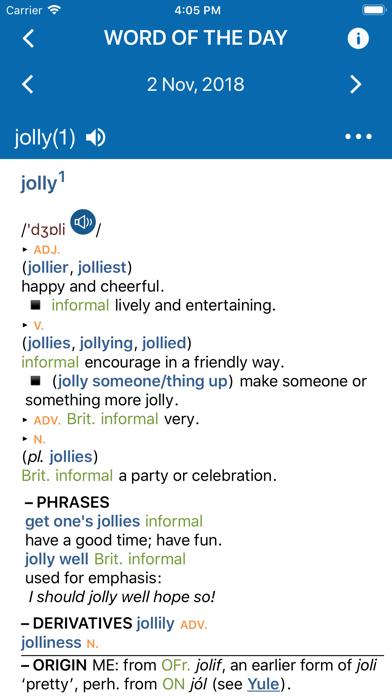 Concise Oxford Dictionaryのおすすめ画像4