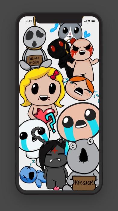 Isaac Stickers Pack Screenshot 1