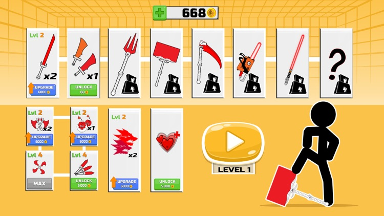 Stickman fighter : Epic battle screenshot-4