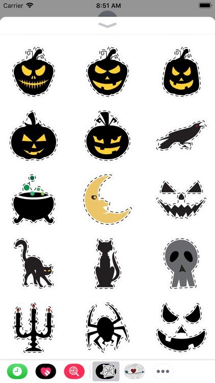 Halloween silhouettes screenshot-3