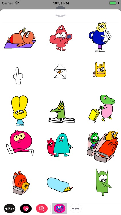 Jon Burgerman Stickers screenshot-3