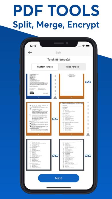 PDF Editor - Creator, ReaderScreenshot of 3