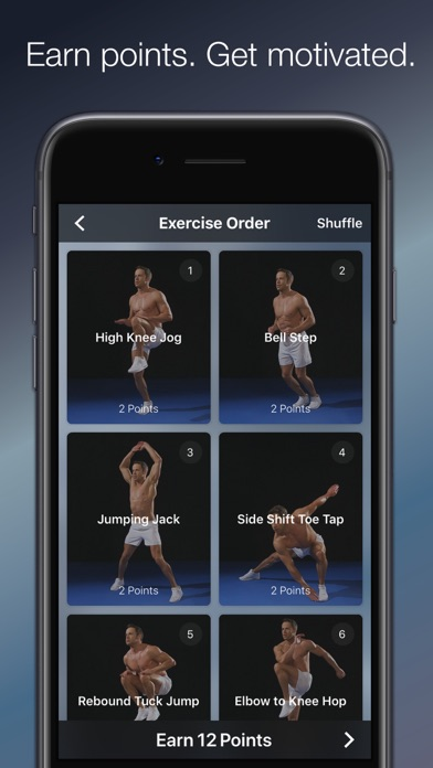 Adrian James: HIIT Screenshots