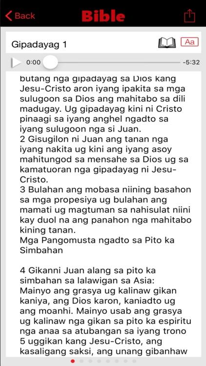 Tagalog Bible Ang Biblia screenshot-3