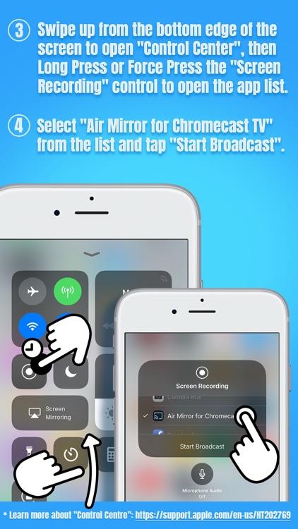 Air Mirror for Chromecast TV screenshot-4