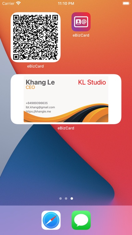 Contactless Business Card Pro