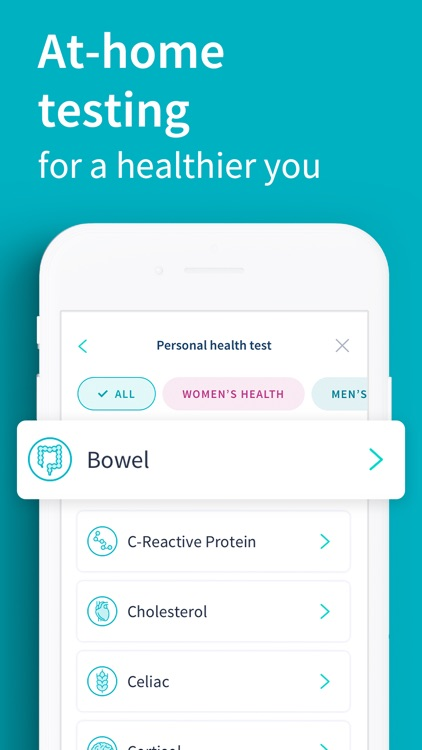 LetsGetChecked: Health Testing