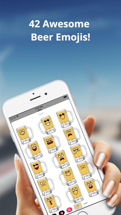 Beer Emoji Party: Fun Stickers