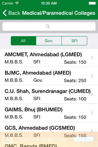 Gujarat Medical Admission - náhled