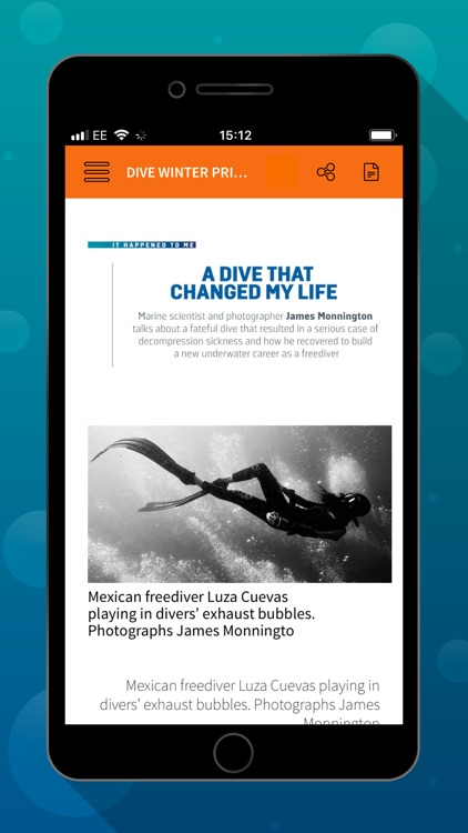 DIVE Magazine screenshot-3