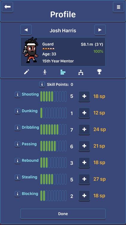 Hoop League Tactics screenshot-8