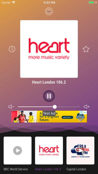 Radio UK - Live FM, AM Player screenshot two
