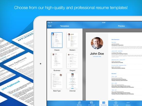 Resume Maker Screenshots