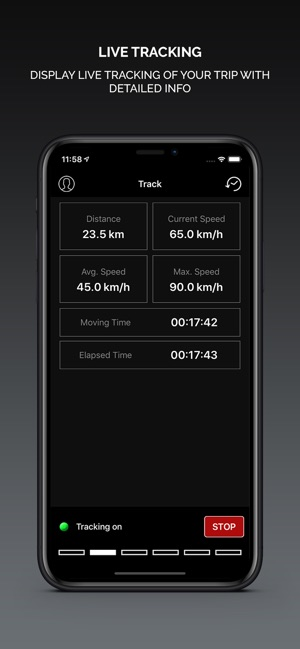 Smart GPS Speedometer PRO Screenshot