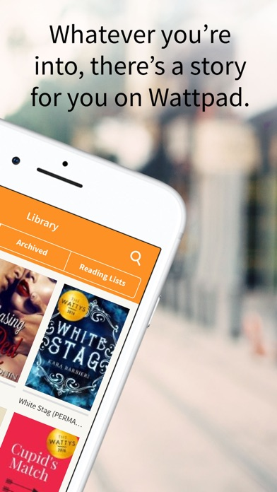 How to delete stories on wattpad library