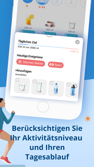 messages.download Wasser trinken erinnerung. software