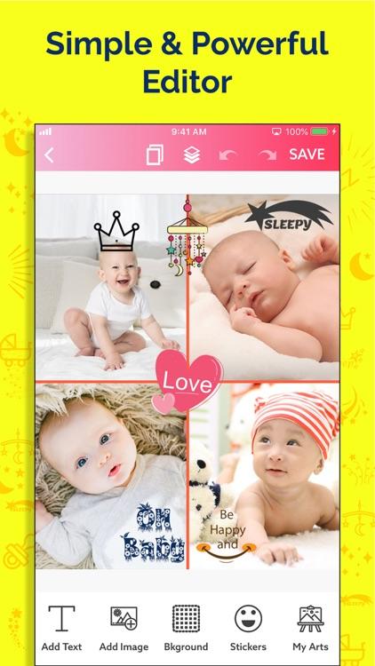 Baby Story Photo Maker screenshot-8