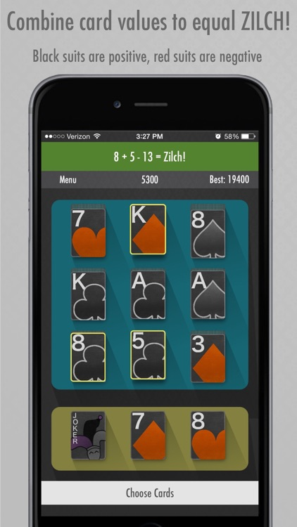 Zilch Solitaire