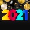 Happy New Year - 2021 Stickers