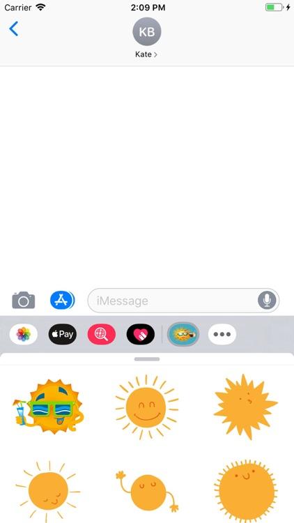 Sunshine Stickers Pack screenshot-3