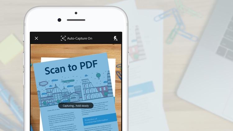 Adobe Scan: Doc Scanner to PDF screenshot-9