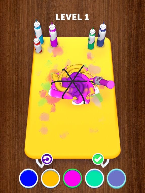 Tie Dye iPad app afbeelding 7
