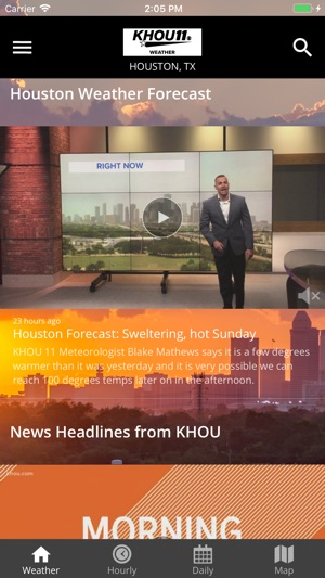 Khou Weather Map.Houston Area Weather From Khou On The App Store