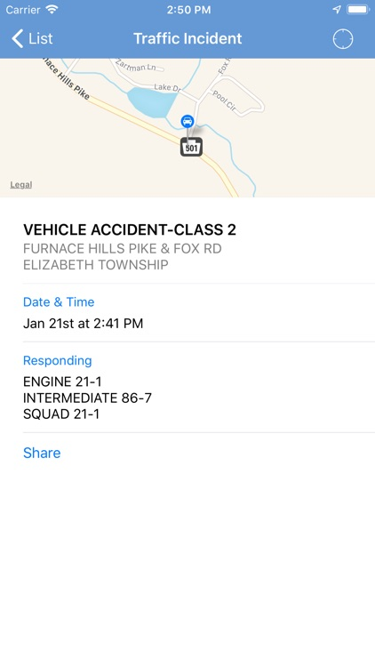 Lancaster County Incidents