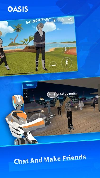 Oasis - a new virtual world screenshot-3