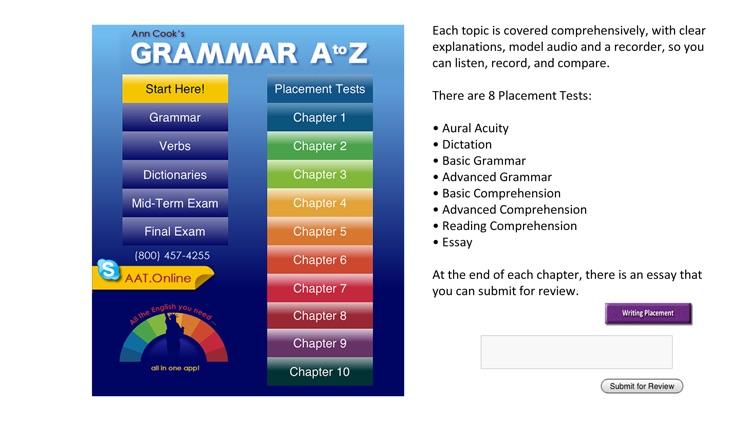 Grammar A-Z