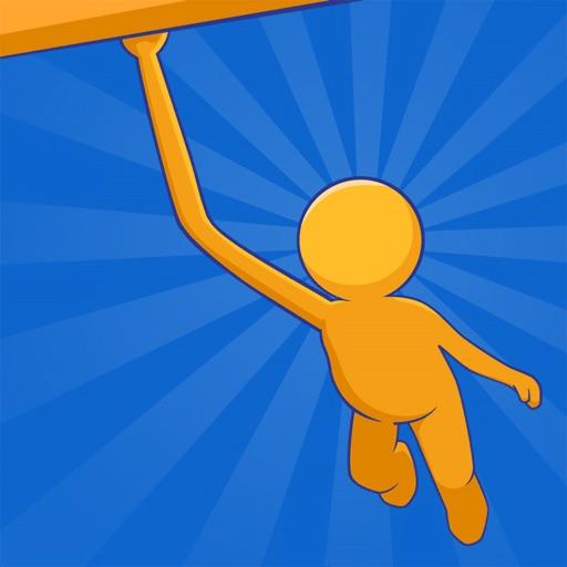 Swing Rush: Flip & Rope Game