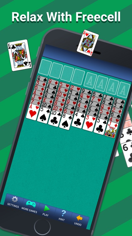 FreeCell Solitaire Classic. screenshot-0