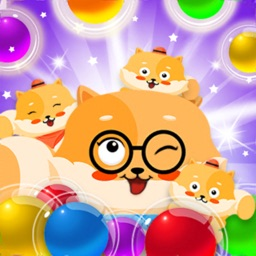 Bubble Shooter Cat World