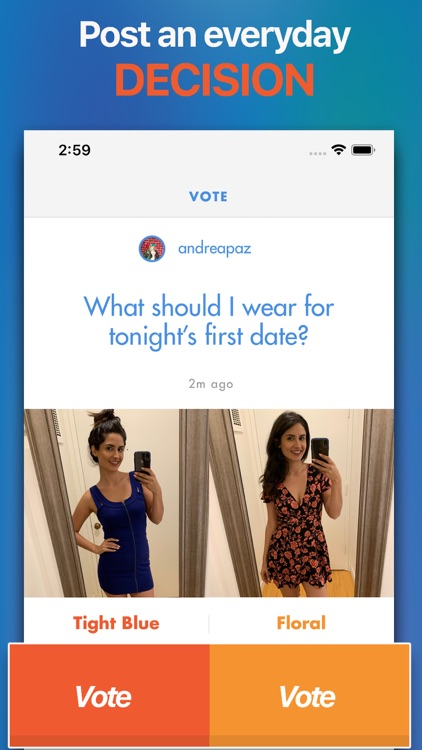 WeeAct - Decision Making App