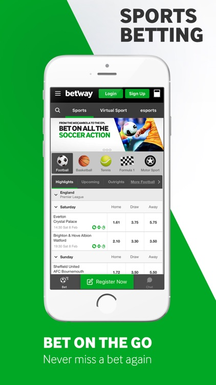 Betway -  Betting