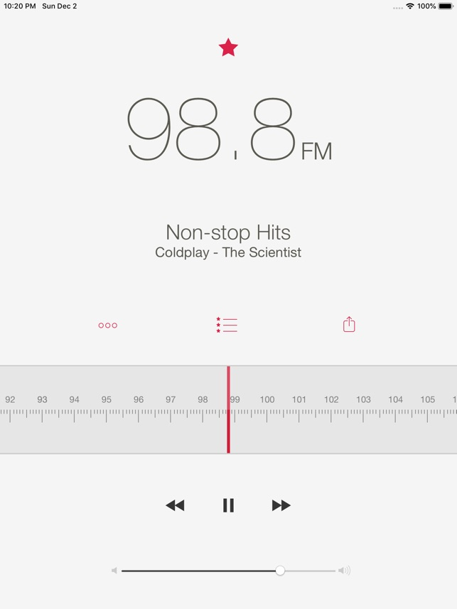 Radio Application Pro Screenshot