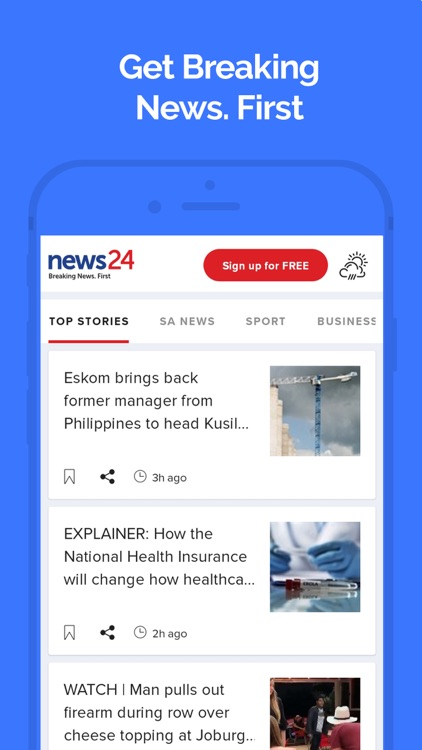 News24: Breaking News. First