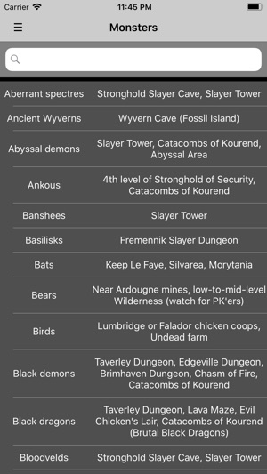 Slayer Guide for OSRS on the App Store