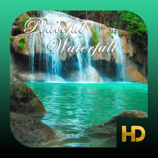 Peaceful Waterfall HD icon