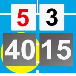 Tennis Score & Card Pro