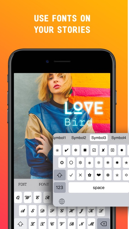 Fonts Keyboard Font Symbol screenshot-3